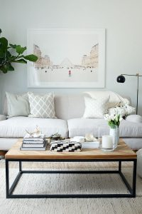 everygirl minted room makeover art after фото